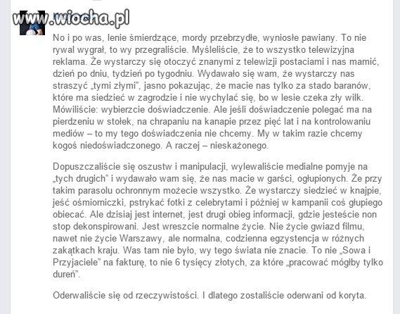 Kwintesencja obecnej Polski