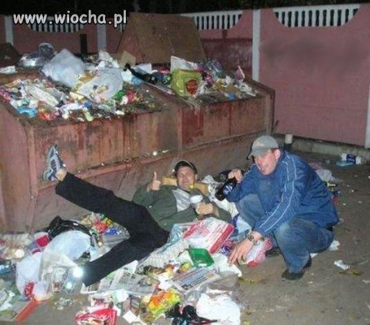 Takie tam w śmieciach