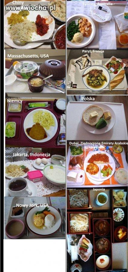 Przykłady posiłków szpitalnych