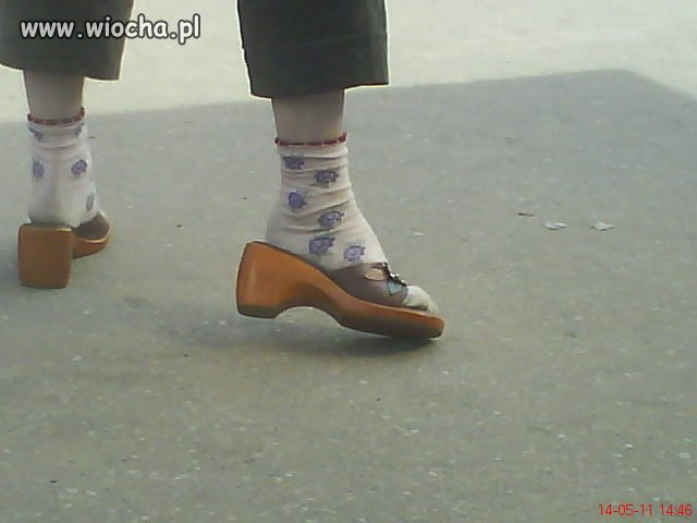 Nie, to nie są buty starszej pani!