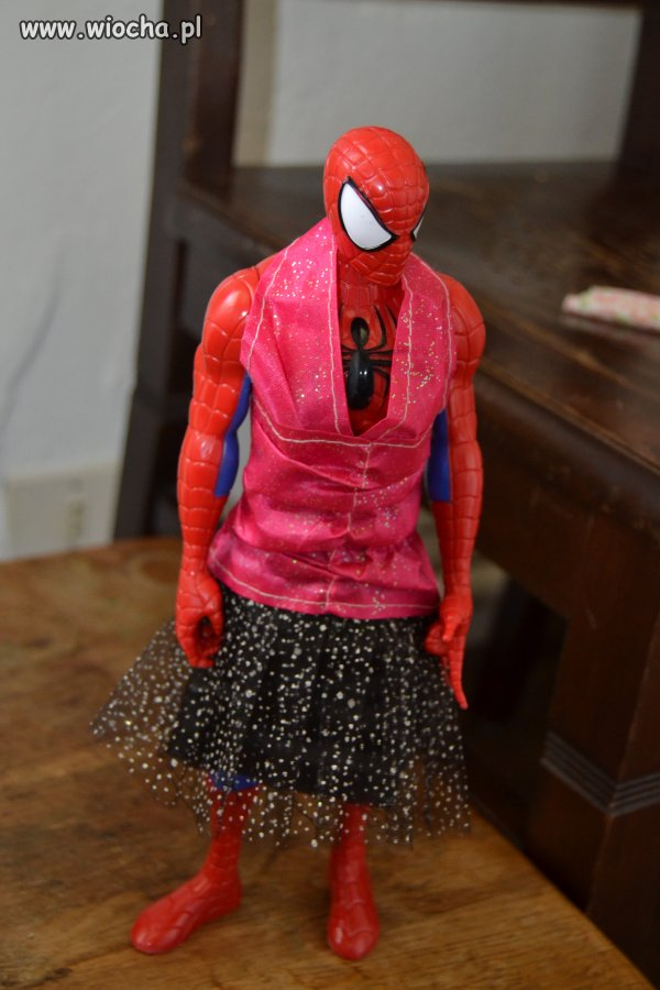 Gender Spiderman