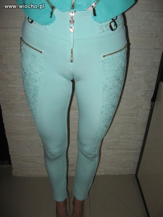 TROCHĘ obcisłe spodnie