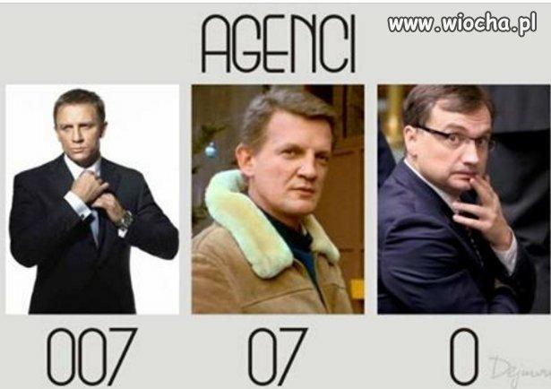 Każdy kraj i czas ma swoich agentów