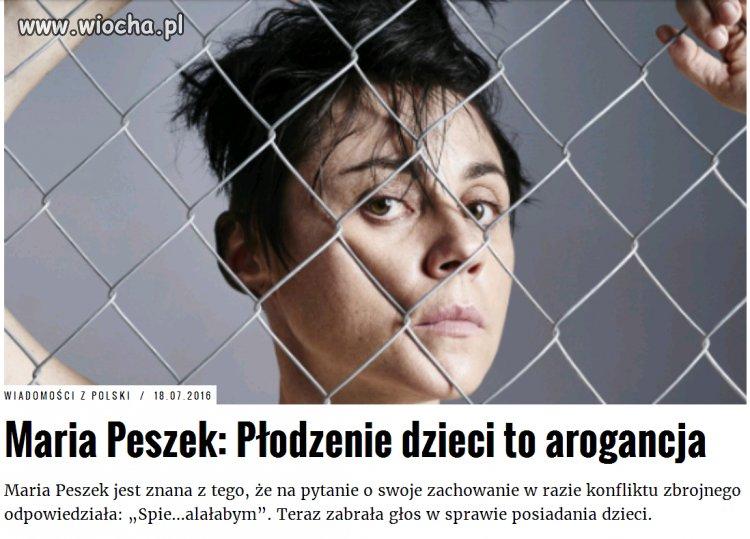 Mądrości życiowe Pani Peszek...