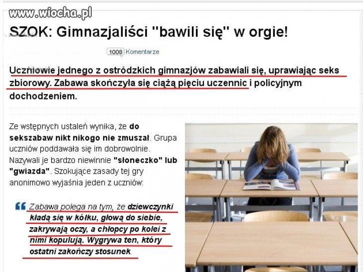 """""""Polska złota młodzież """"..."""