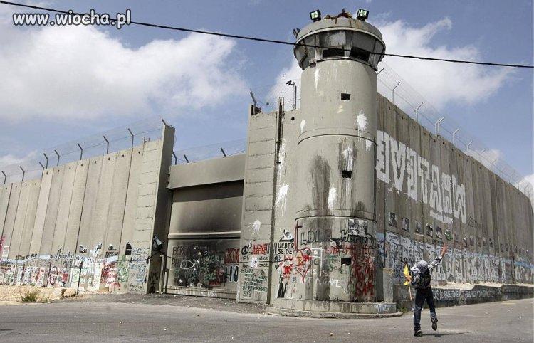 Tak wygląda granica Izraela