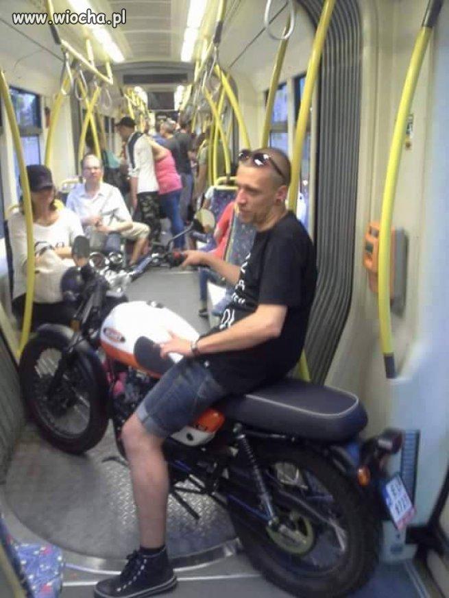 Tymczasem w Łódzkim tramwaju...