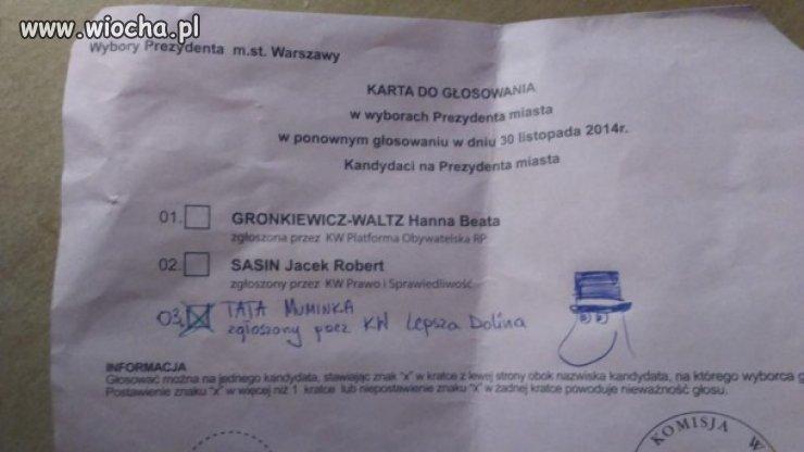 W Warszawie wygrał Tata Muninka.
