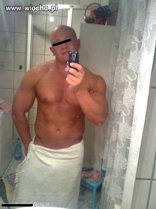 Koksu w łazience