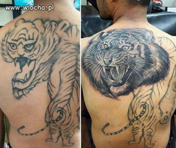 Są tatuażyści, są też oszuści