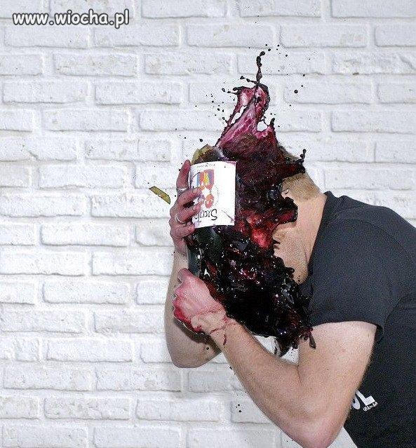 Bo wino było za gorzkie...