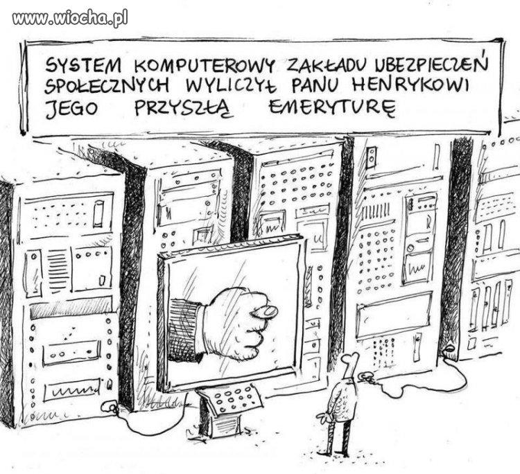 Wesołe życie polskiego emeryta.