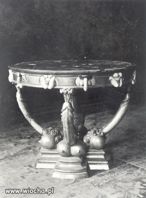 Stolik Carycy Katarzyny II Wielkiej