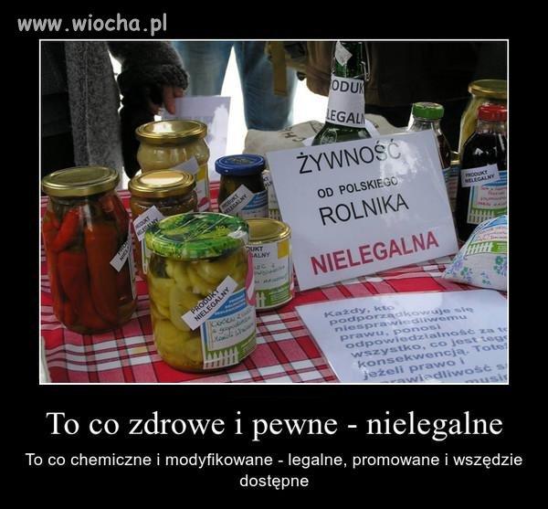 Należałoby podkreślić, że w EU jedynie polski rolnik