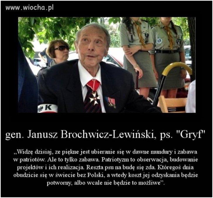 S�owa bohatera o dzisiejszej Polsce ...
