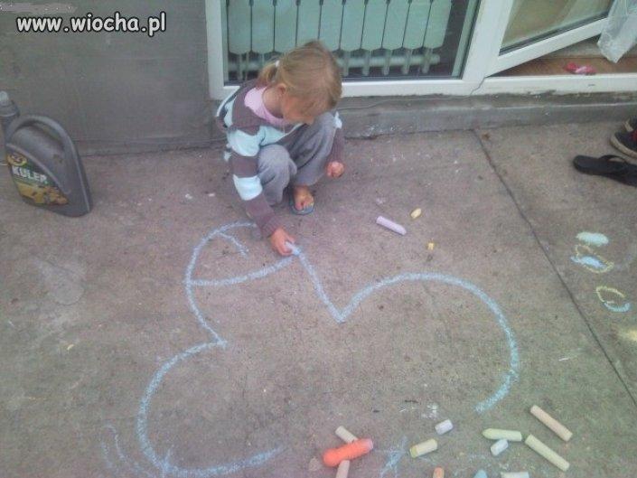 Ciekawe skąd to dziecko