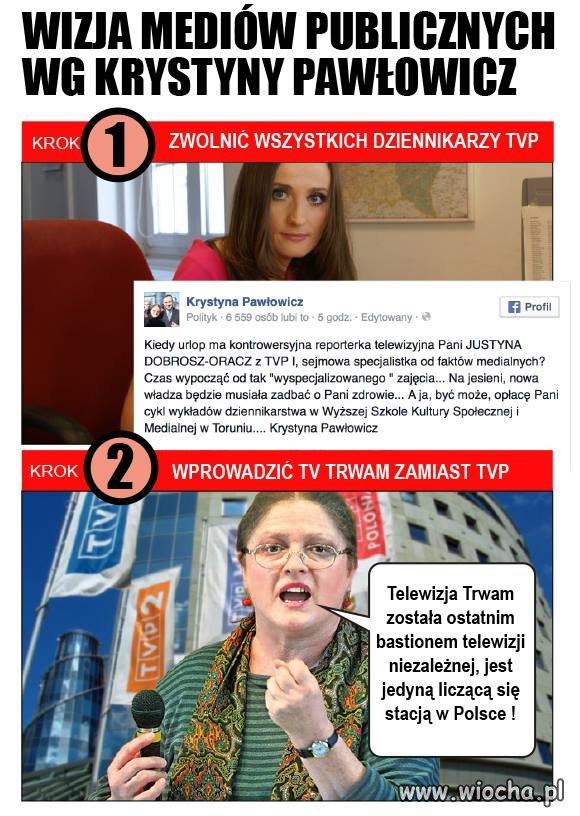 Pozamykać TVN, POLSAT, TVP niech będzie