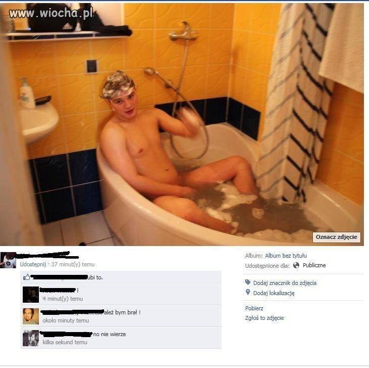 Wypada uwiecznić kąpiel.