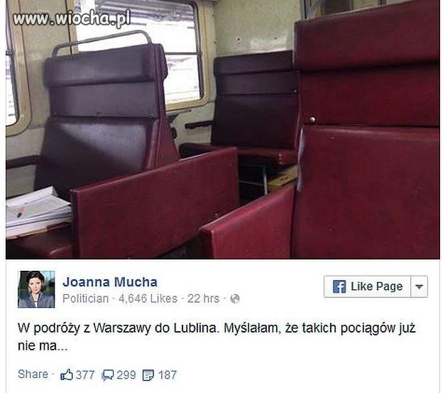 Joanna Mucha odkrywa Polskę!