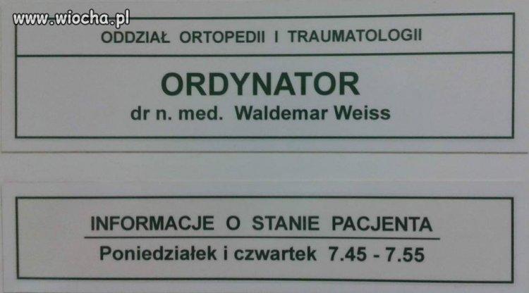 Szacunek do pacjentów.