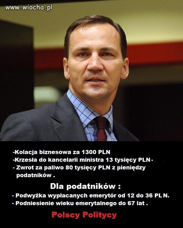 Politycy w Polsce.