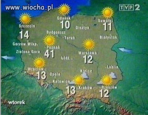 A w Poznaniu już lato