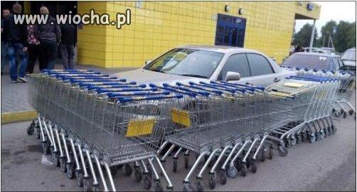 Kara za ch***e parkowanie