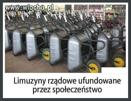Limuzyny rządowe...