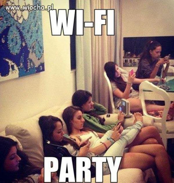 By�y�my na imprezie