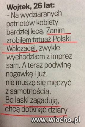 Spos�b Wojtka na laski