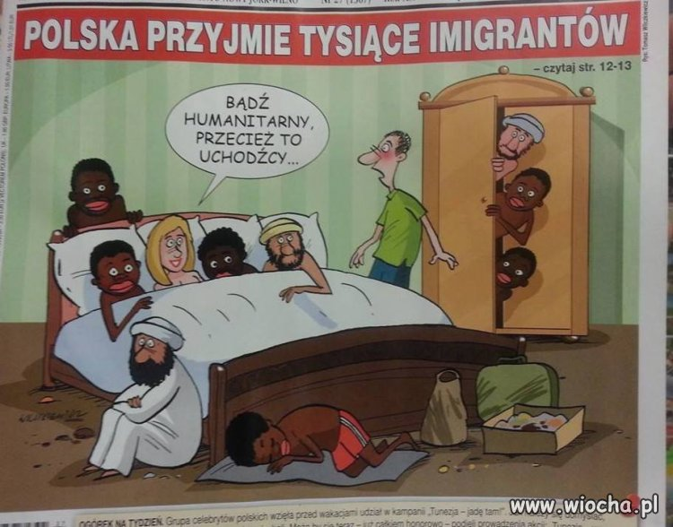 Ja nie mam nic przeciwko imigrantom