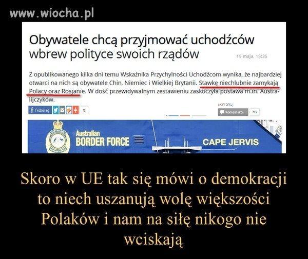 Przynajmniej w jednej sprawie Polacy są zgodni.