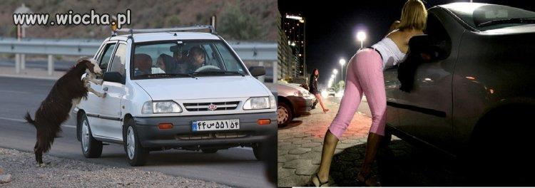 Prostytutki w pracy