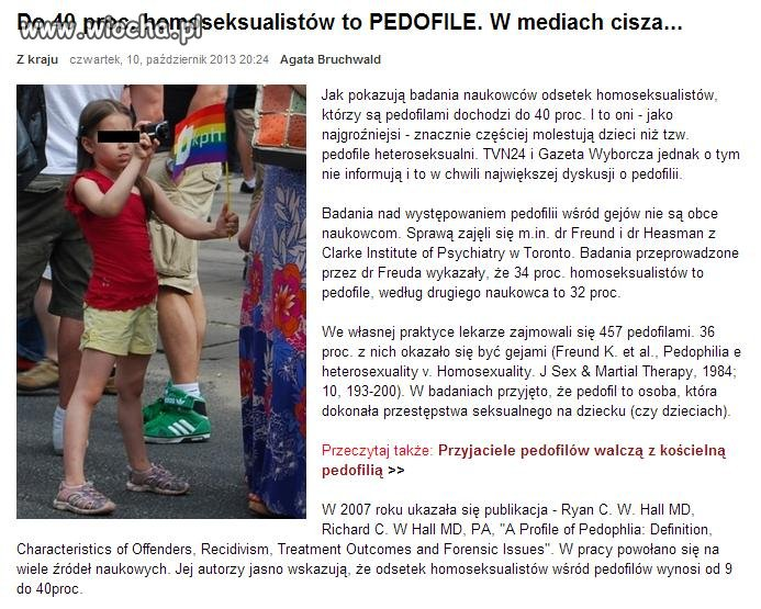 Dlatego trzeba walczyć z homoseksualizmem!!!