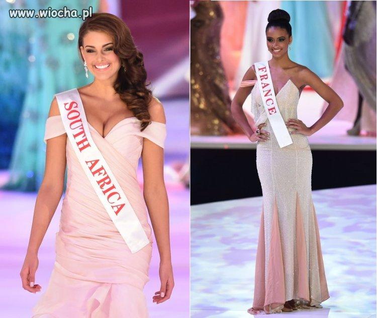 Miss Afryki jest biała, miss Francji czarna