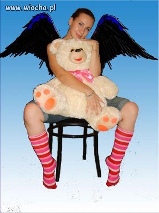 Anioł z reklamy axe?