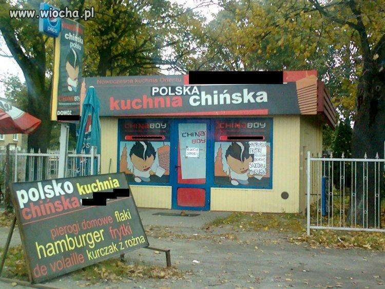 POLSKA kuchnia chińska