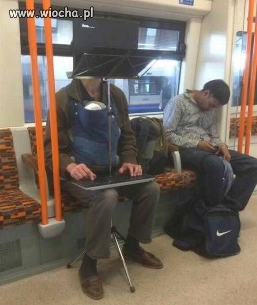 Zestaw do jazdy metrem