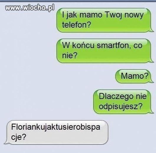 Telefon kontra mama