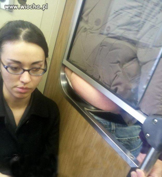 Nie ma to jak narobić wiochy w autobusie...