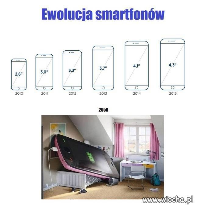 Ewolucja smartfon�w
