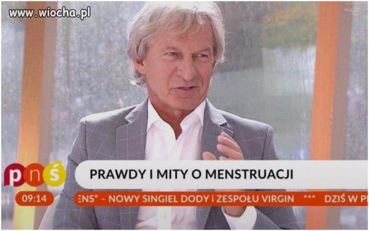 Skąd TVP wzięło tego ginekologa?!