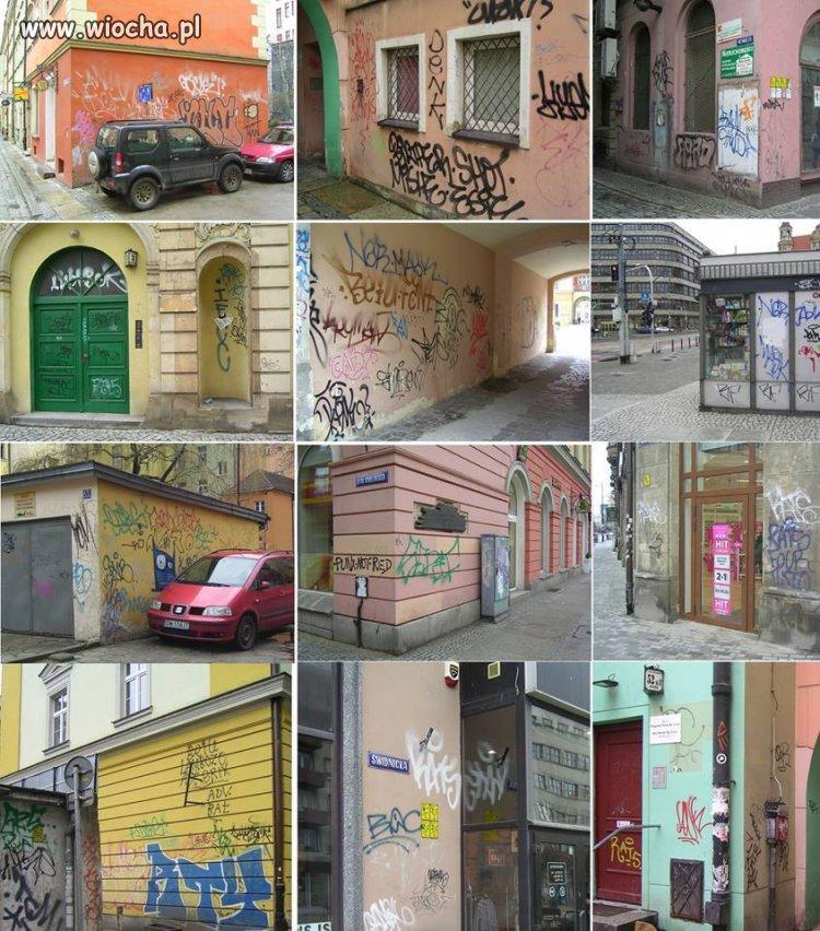 Rozumiem,że ktoś może lubić graffitii,ale nie w ten sposób.