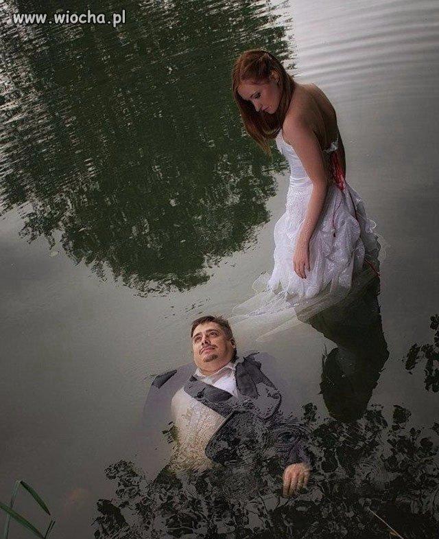 Ślubne sesje coraz głupsze