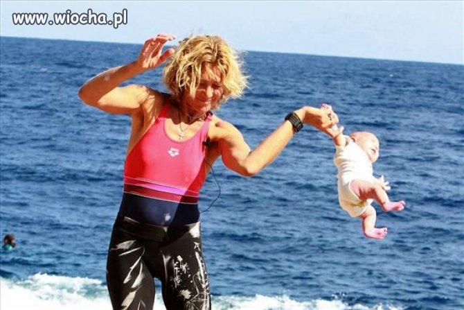 Rosyjska joga dla niemowląt