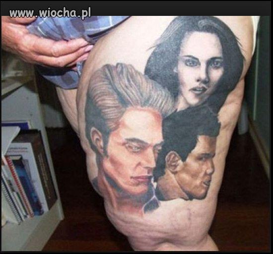 Okazały tatuaż