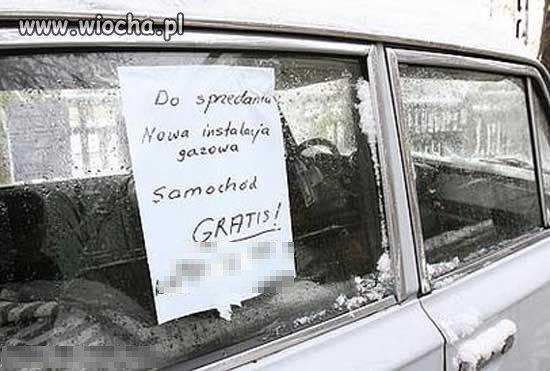 Kup instalację, samochód gratis.