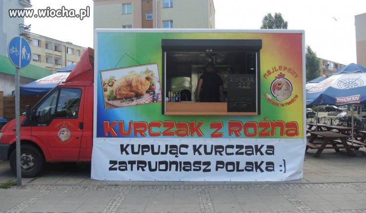 Kupując kebaba osiedlasz Araba