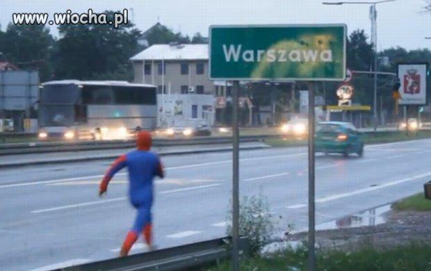 Spiderman już w Warszawie