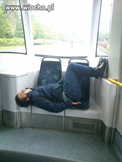 Bardzo zmęczony osobnik...